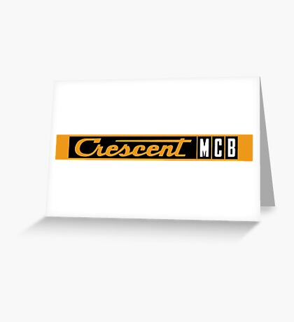 Crescent Bicycles Greeting Card