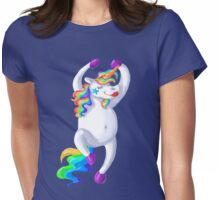 One fab unicorn Womens Fitted T-Shirt