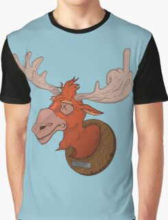 Moose says hello Graphic T-Shirt