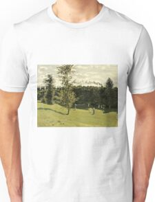 Claude Monet - Train in the Countryside (circa 1870)  Unisex T-Shirt
