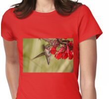 Tickle Me Red Womens Fitted T-Shirt