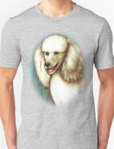 A Poodle Portrait Unisex T-Shirt