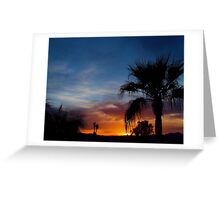 Paradise Night Greeting Card