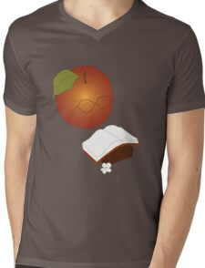 Apples are the fruit of Knowledge Mens V-Neck T-Shirt
