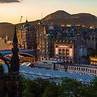 Old town sunrise 2 by Beautiful Edinburgh