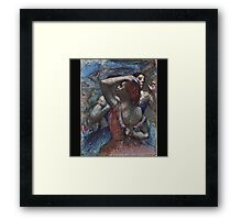 Edgar Degas - Dancers Framed Print