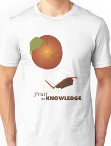 Apple are the fruit of Knowledge V2 Unisex T-Shirt