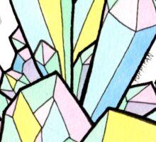 Pastel Crystals Sticker