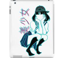 Girl+ [without bandaid] iPad Case/Skin