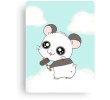 Panda Hamtaro Canvas Print