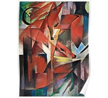 Franz Marc - The Foxes (1913)  Poster