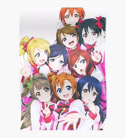 Love Live! School Idol Project Poster