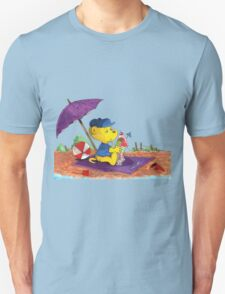Ferald's Ice-Cream Beach Delight. Unisex T-Shirt