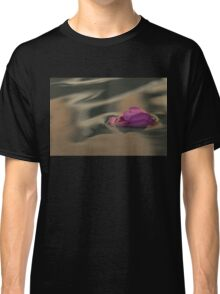 Melancholy - Discarded Rosebud Floating in a Fountain Classic T-Shirt