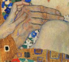 Gustav Klimt - The Kiss, 1907-08 Detal 4 Sticker