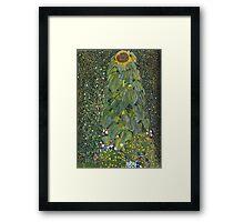 Gustav Klimt - The Sunflower 1907 Framed Print