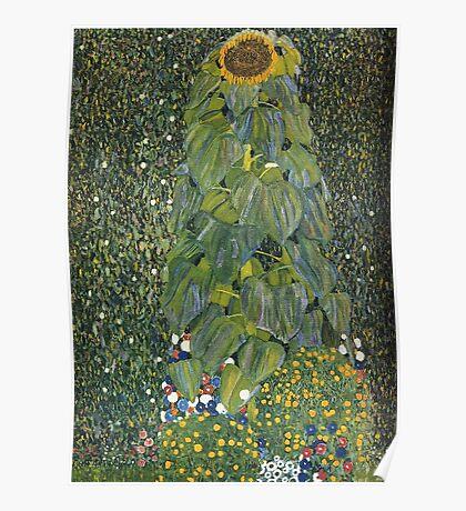 Gustav Klimt - The Sunflower 1907 Poster