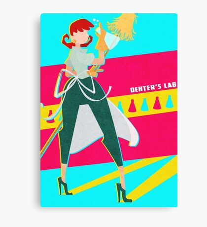 Dexter's Lab Canvas Print