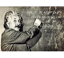 Einstein's Theory of Relativity Revised Photographic Print