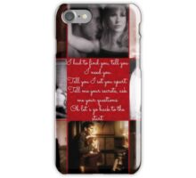 Doctor Who - Ninth Doctor and Donna Noble AU iPhone Case/Skin
