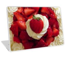 Strawberries & Cream Pie Laptop Skin