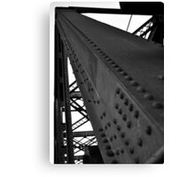 BW Bridge Canvas Print
