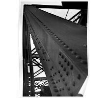 BW Bridge Poster