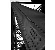 BW Bridge Photographic Print