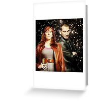 Doctor Who- Ninth Doctor x Donna Noble Greeting Card