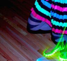 Neon Streak Sticker