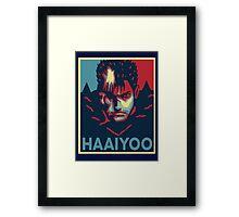 HAAIYOOO HAIYO HAAAIYOOOOOO Framed Print