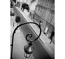 Parisan Street Lamp Photographic Print