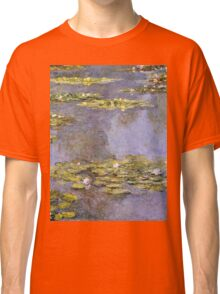 Claude Monet - Water Lilies 8 Classic T-Shirt