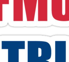 fmu patriot Sticker