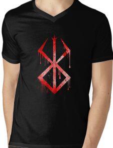Berserk Sacrifice Symbol Mens V-Neck T-Shirt