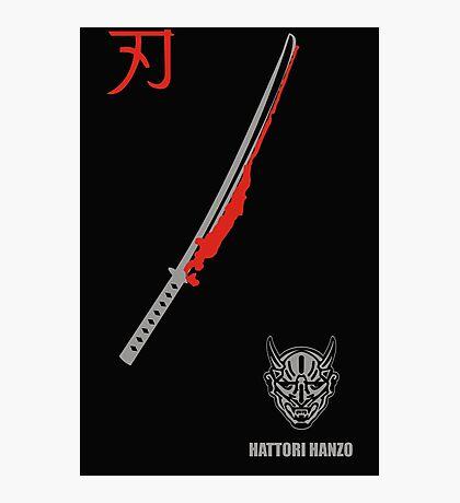 MENS HATTORI HANZO KILL BILL SAMURAI SWORDS Photographic Print
