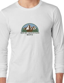 Rocky Mountain Boys Long Sleeve T-Shirt