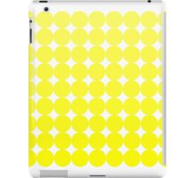 Yellow Polka-Dotted iPad Case/Skin