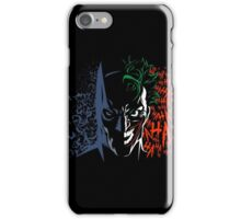 Dark vs ha iPhone Case/Skin