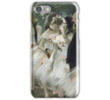 Edgar Degas - The Ballet Class (1871 - 1874)  iPhone Case/Skin