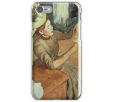 Edgar Degas - The Millinery Shop iPhone Case/Skin
