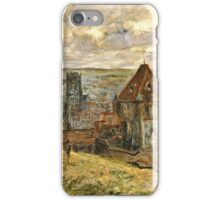 Claude Monet - The Seine At Vetheuil   iPhone Case/Skin