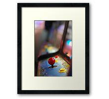 Back to the arcade Framed Print