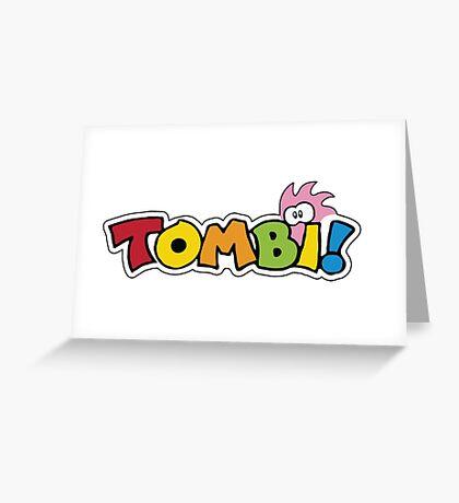 Tombi Tomba Greeting Card