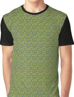 Peacock Print Graphic T-Shirt