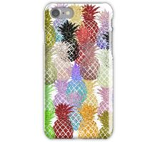 pineapple colorfull iPhone Case/Skin