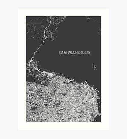 San Francisco alternate angle Art Print