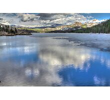 Reflections from Caples Lake Photographic Print
