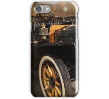 White steam Car - Presidential Antique car iPhone Case/Skin