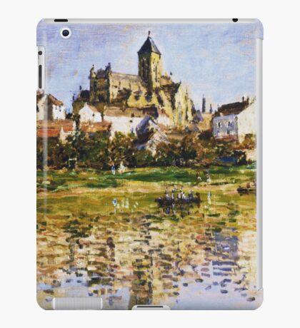 Claude Monet - Vetheuil The Church iPad Case/Skin